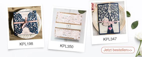Lasercut Hochzeitskarten Traumhafte Einladungskarten Zur Hochzeit