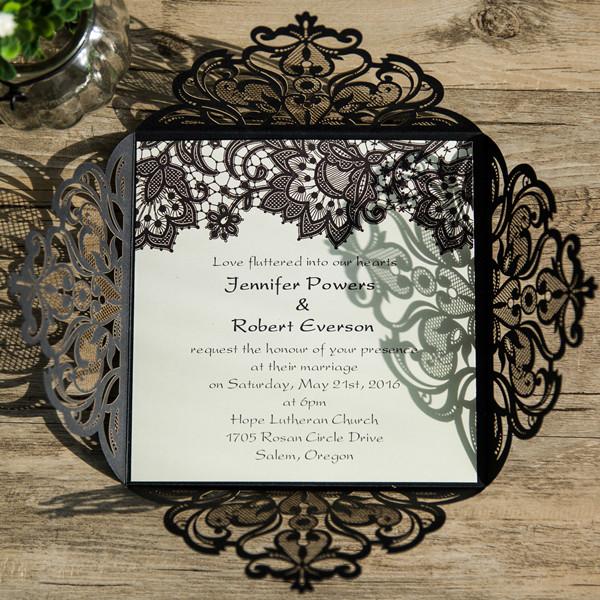 Schwarze Hochzeitskarten Traumhafte Einladungskarten Zur Hochzeit