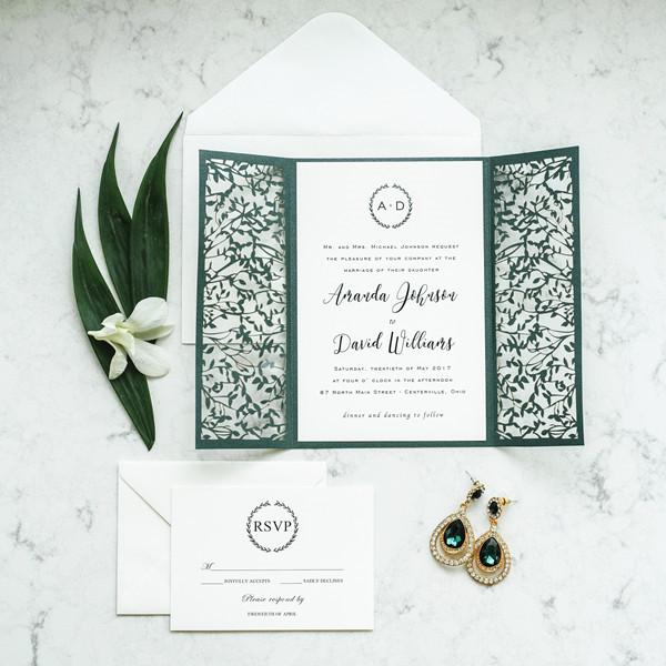 Natur Hochzeitskarten Traumhafte Einladungskarten Zur Hochzeit丨