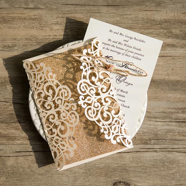 Lasercut Hochzeitskarten Traumhafte Einladungskarten Zur